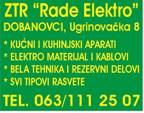 Rade-elektro-dobanovci-kućni-kuhinjski-aparati-elektromaterijal-kablovi-belatehnika-rezervnidelovi-rasveta-surcin