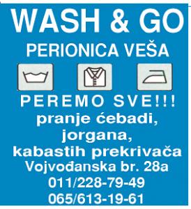WASH AND GO slika