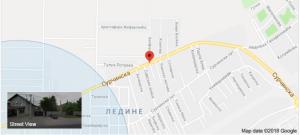 FS Ivana mapa
