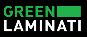 Green-laminati logo