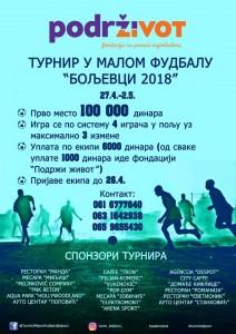 1 Turnir Boljevci 2018