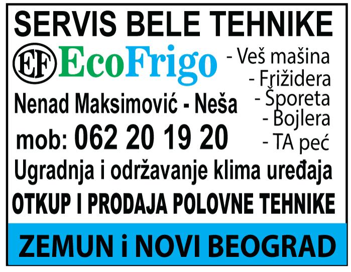 EcoFRIGO-servis-belatehnika-popravka-klima-frizider-zamrzivactapec-sporet-elektricni-majstor-serviser-zemun-blokovi-nbgd-povoljno-mojabaza