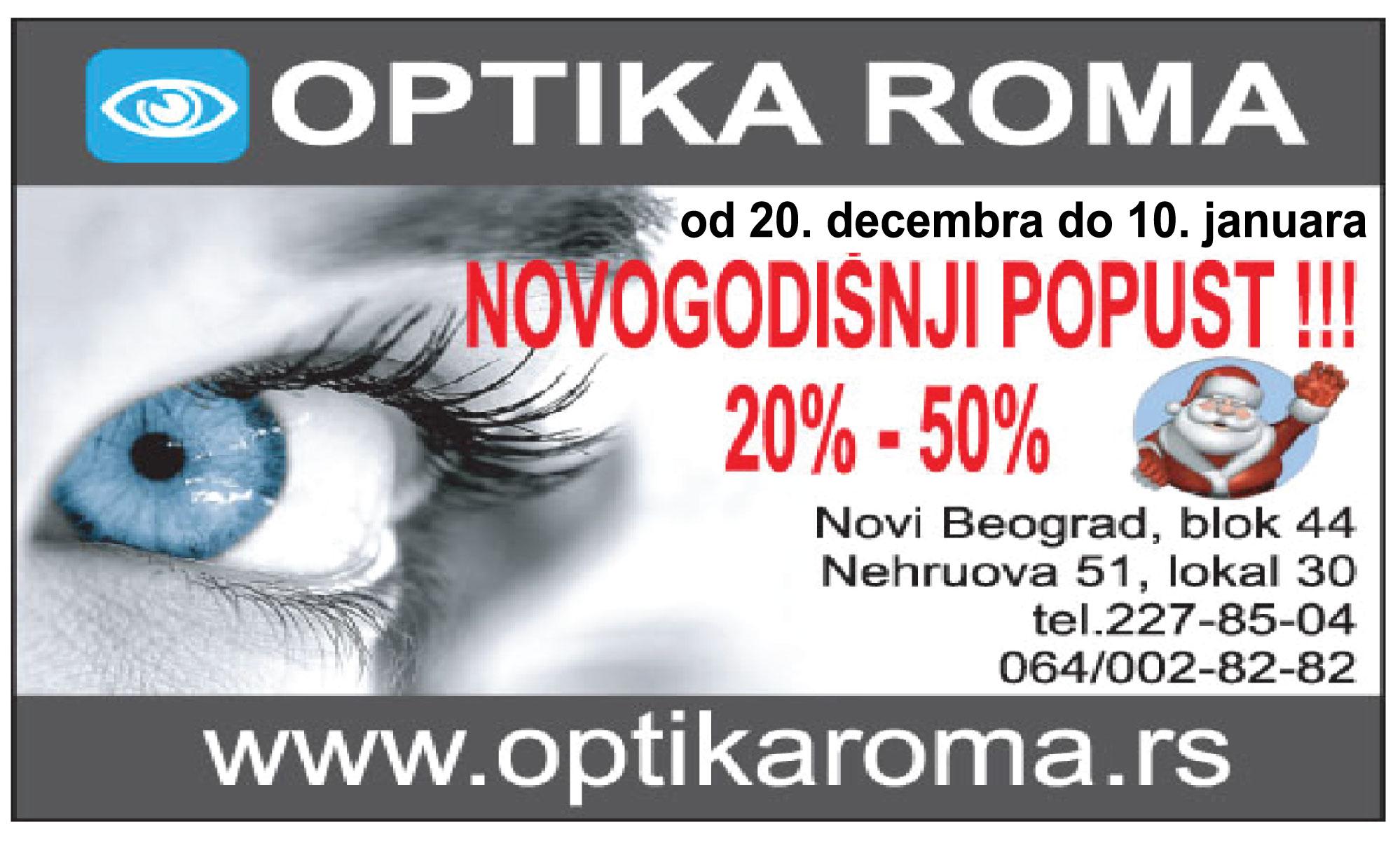 OPTIKA-ROMA-novibeograd-novibgd-blokovi-jurijagagarina-blok44-naocale-naocari-dioprija-pregled-oko-vid-poboljsanje-bolji-nevidimdobro-zaoci-mojabaza