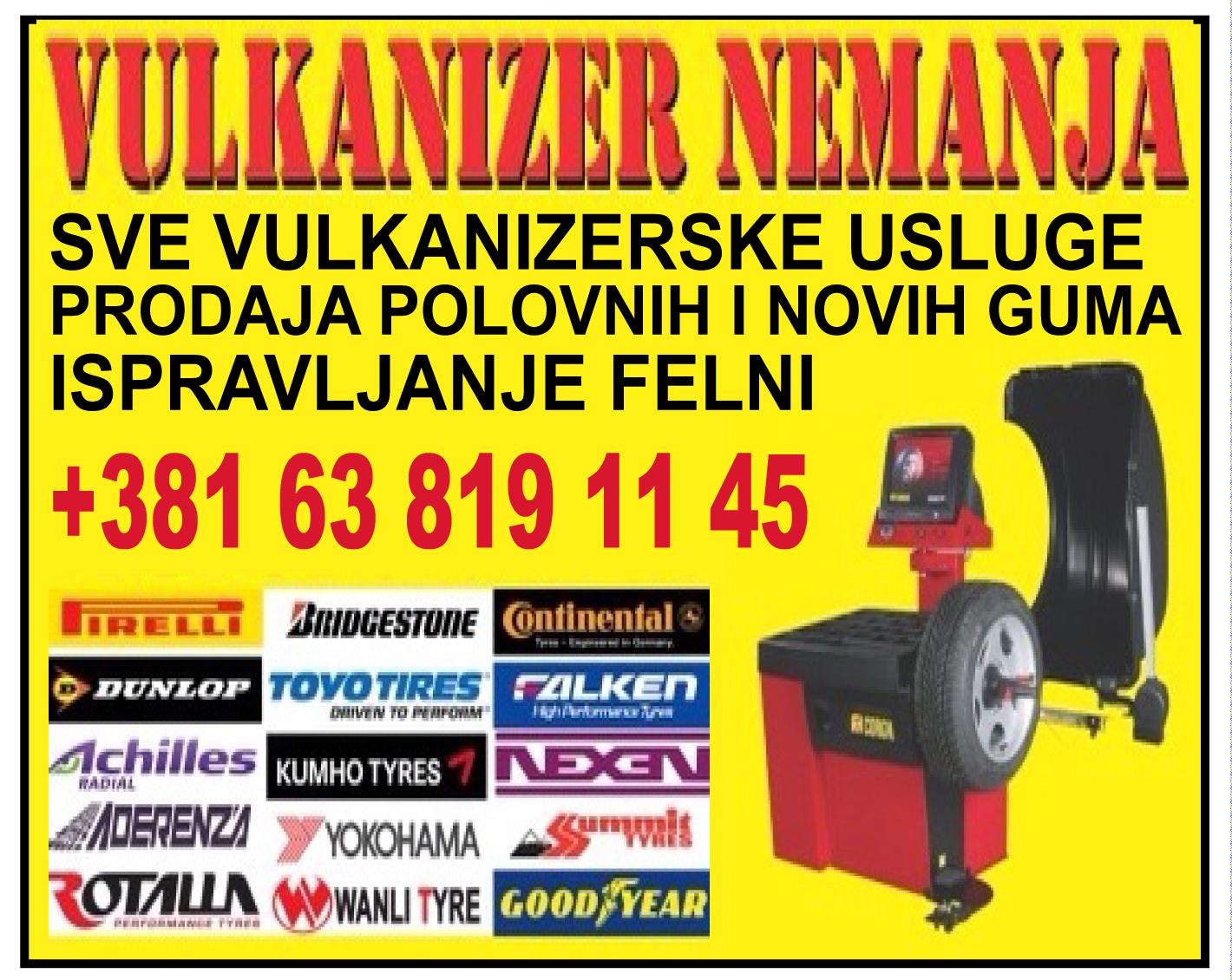 VULKANIZER-NEMANJA-surcin-zamena-gume-nove-polovne-ispravljanjefelni-auto-odrzavanje-servis-puklaguma-pomocnaputu-beograd-mojabaza