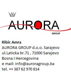 aurora group sarajevo logo zdrava hrana marmelada jabuka datula suva sljiva mojabaza
