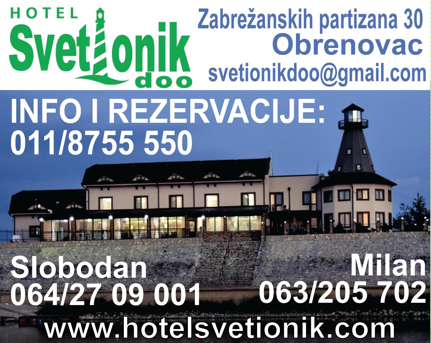 SVETIONIK-hotel-obrenovac-svecanasala-veselja-proslave-svadbe-rezervacije-restoran-smestaj-prenociste-konak-motel-mojabaza