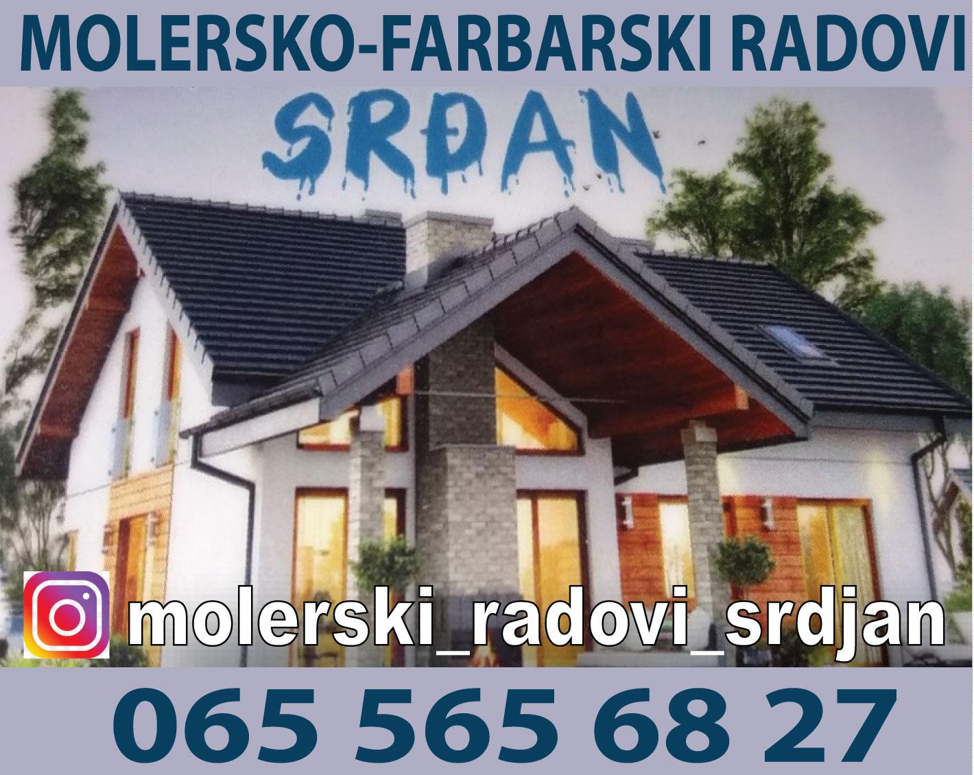Molerski-gradjevinski-radovi-adaptacije-krecenje-izolacija-Srdjan-surcin-Beograd-mojabazaoglasi