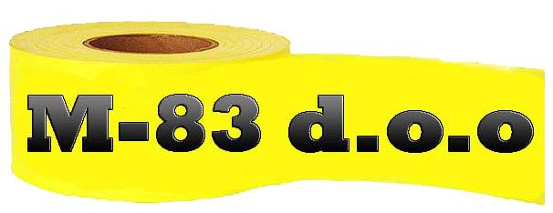 selotejp traka krep solvent stampana uboji strec folija m-83 logo mojabazaoglasi