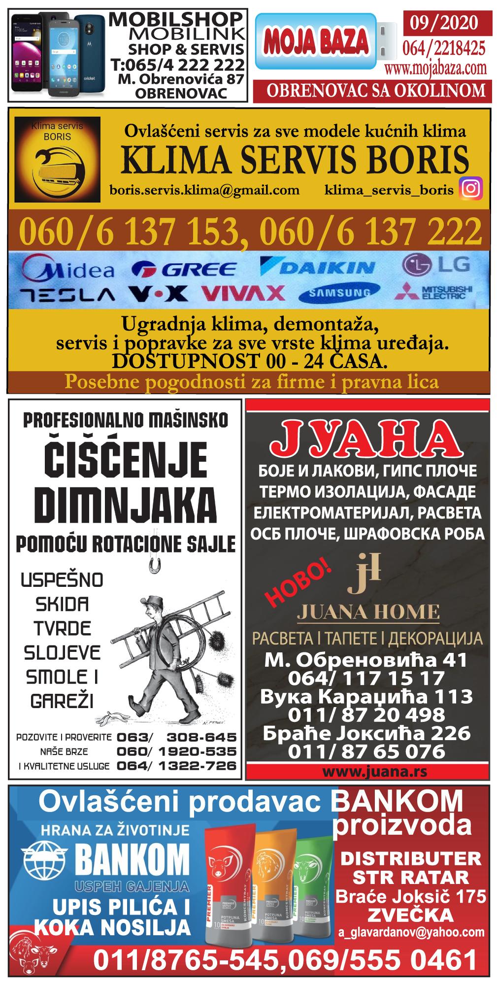 Obrenovac - mart