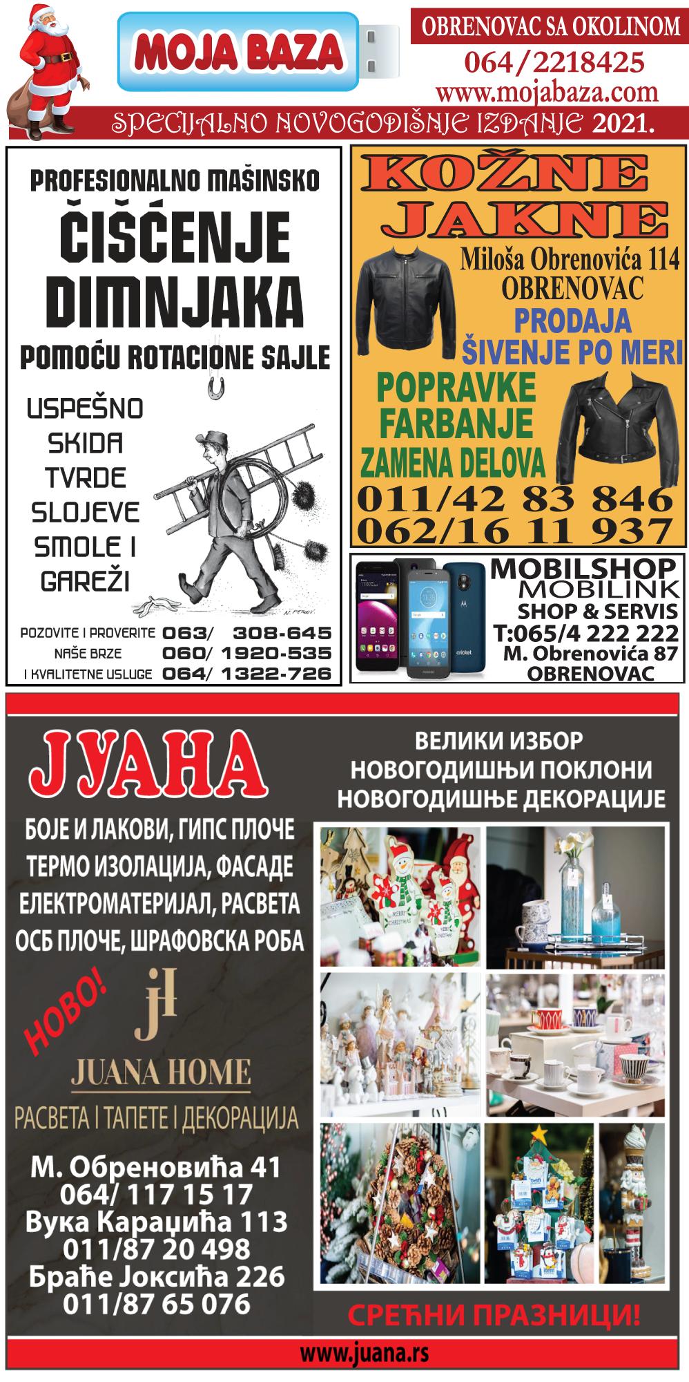 Obrenovac - april