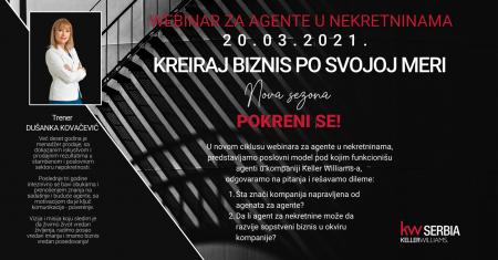 1keller wiliams serbia dusanka kovacevic trening agen za nekretnine webinar srbija mojabaza 1