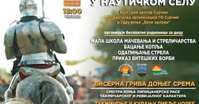 #1srednji vek nauticko selo dani evropske bastine surcin boljevci beograd medieval knights serbia mojabaza 1